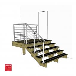 Embout vissage avec empreinte étoile torx 25 mm