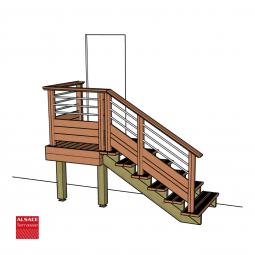 Plots PVC réglable H : 6-9 cm, Diam. 20 cm