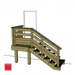 Plots PVC réglable H : 9-15 cm, Diam. 20 cm