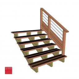 Lame de terrasse en Mélèze