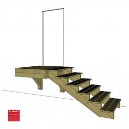 Plots PVC réglable H : 4-6 cm, Diam. 20 cm
